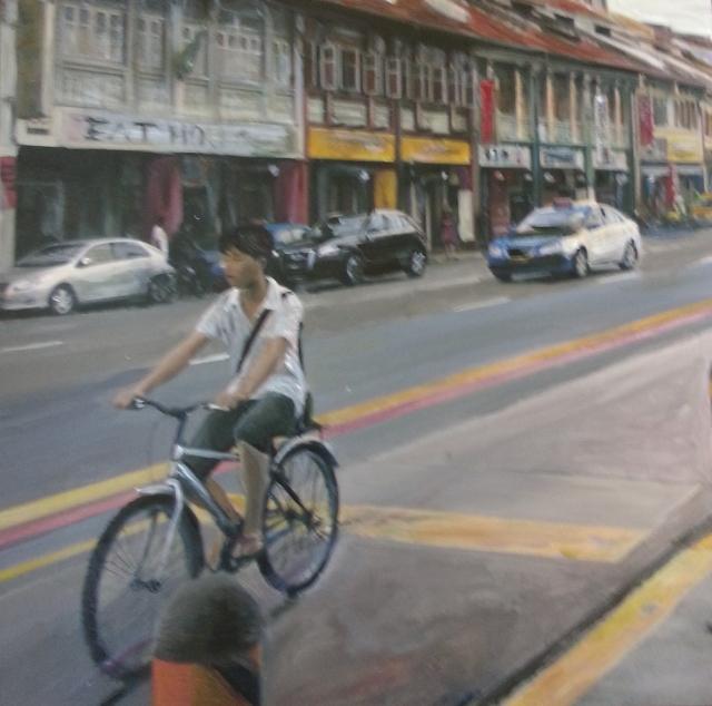 Bicycling in Geylang tales