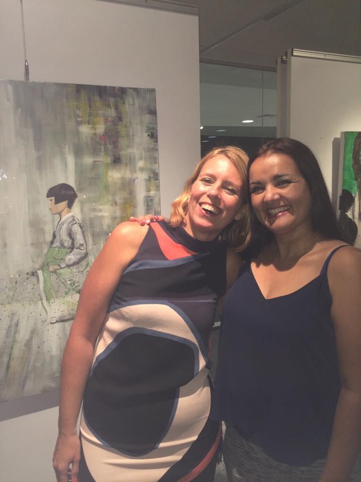 Ana Maria with Ingela
