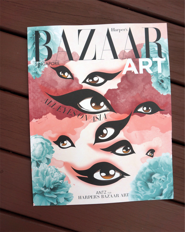 Harpers Bazar Art cover