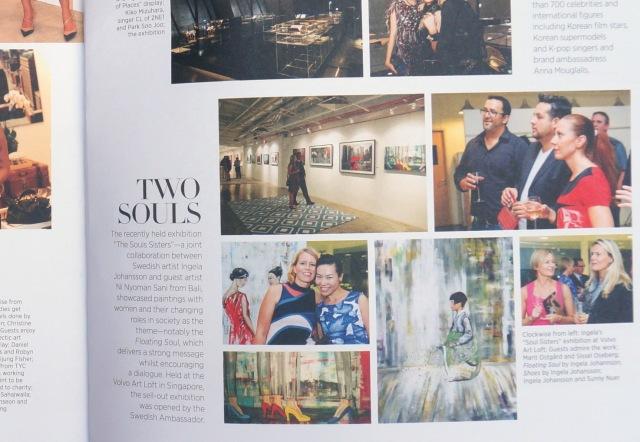 Two Souls Harpers Bazar Art