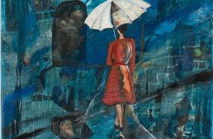 Featured Blue Umbrella