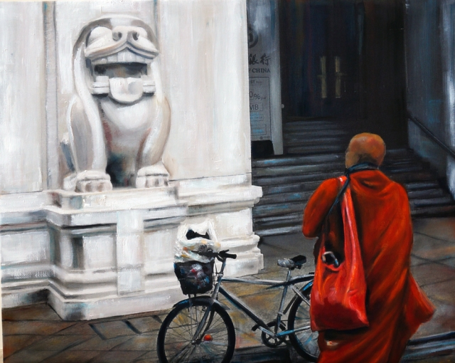 The monk and the bank of China