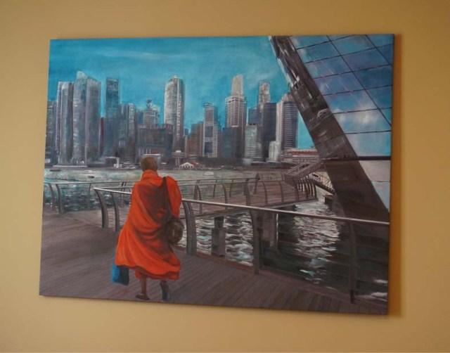 Monk at home at Reflections 3