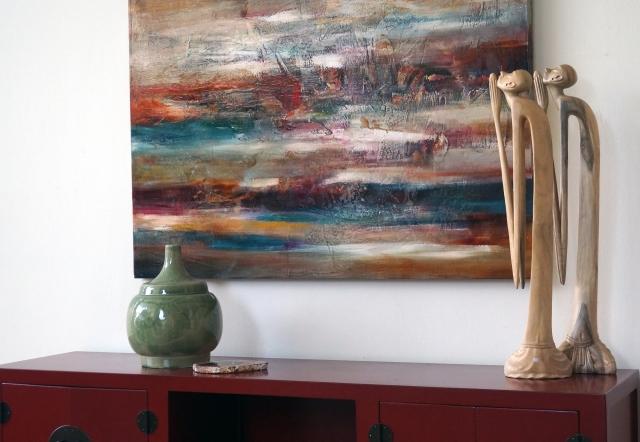 Balance with interior setting