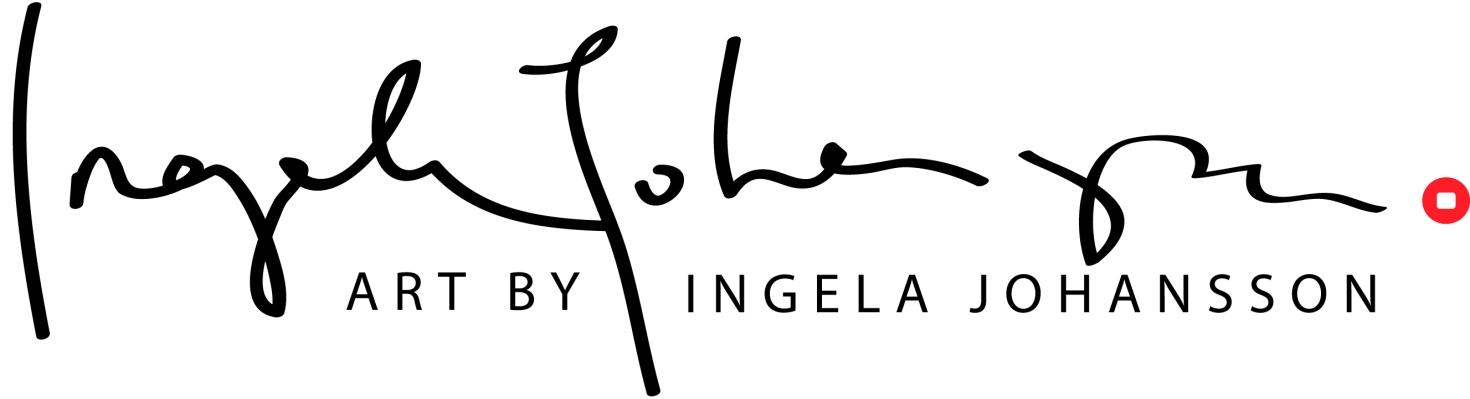 logotype Art by Ingela Johansson